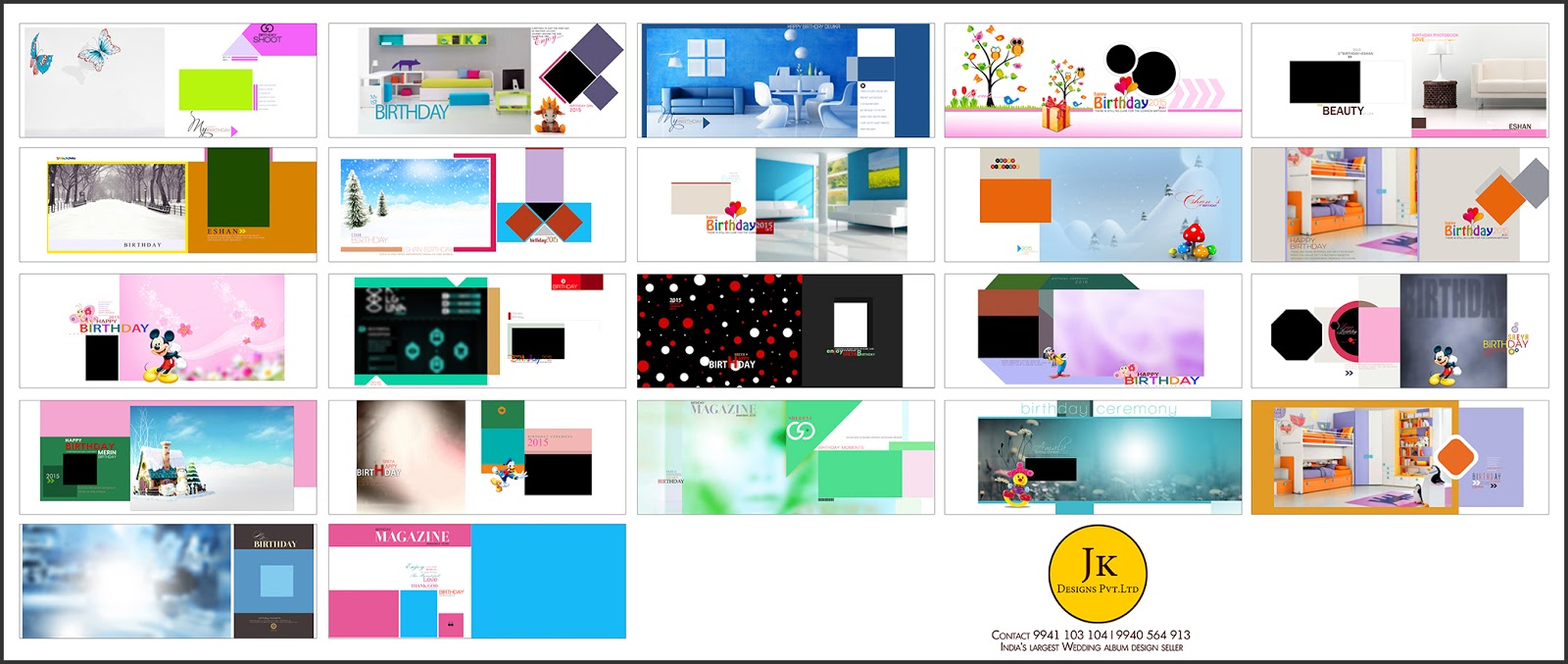 Jk Wedding Album Templates PSD Format For Sale in INDIA Super Pack