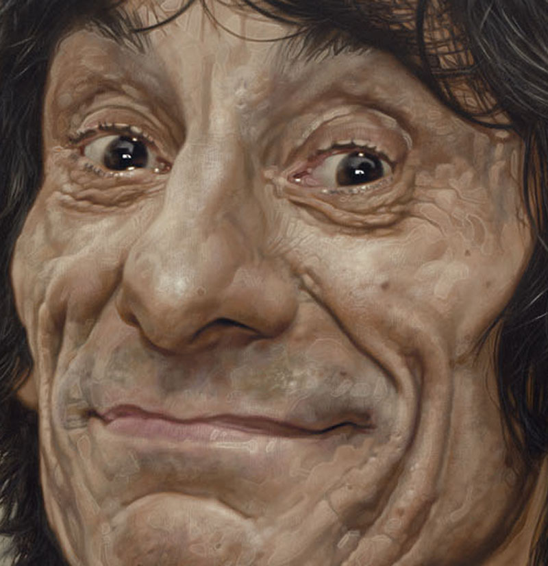 Ronnie-Wood - New Pop Realism - Sebastian Krüger 1963
