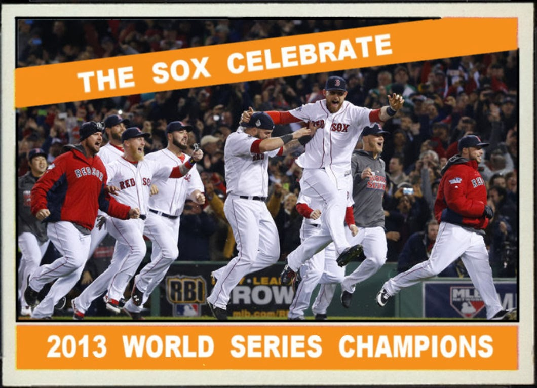 Cards That Never Were: 1966 Topps Style 2013 World Series Champs