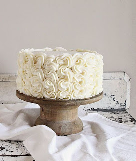 Cara Menghias Kue Tart Ulang Tahun dengan Butter Cream dan Spuit