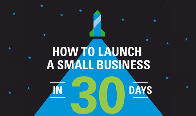 How To Launch A Small Business In 30 Days