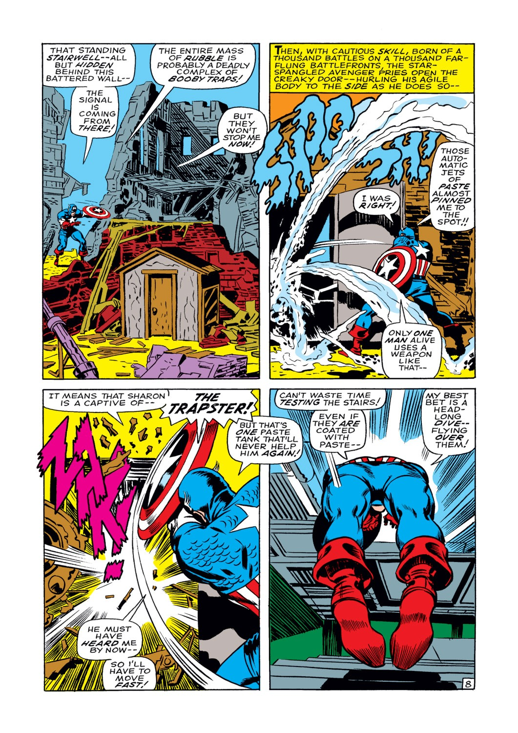 Captain America (1968) Issue #108 #22 - English 9