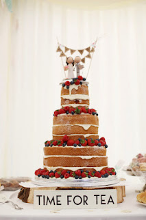 strawberry-shortcake-wedding-cake-with-custom-bride-and-groom-cake-topper