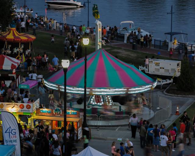 Festivais de música ao ar livre no verão em Washington
