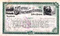SLSE stock certificate
