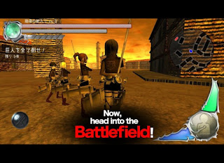 Download Game MOD - BattleField (Attack On Titan) Apk v3.0.0 (God Mode)