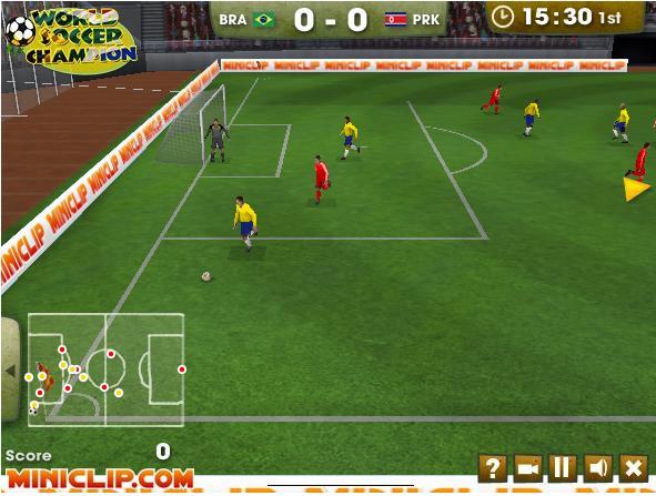 Jogos online futebol gratis