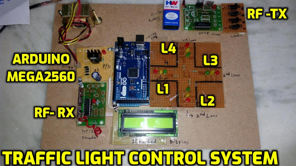 Svsembedded 9491535690 7842358459 Traffic Light Control System Using Microcontroller