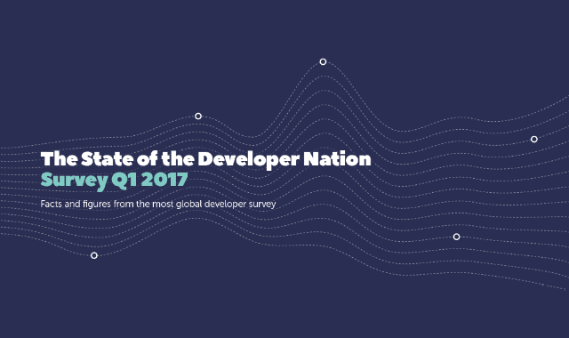 The State Of The Developer Nation Survey Q1 2017