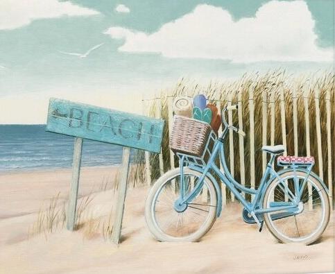 Beach Cruiser Art Prints