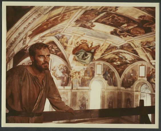 Charlton Heston The Agony And The Ecstasy 1965