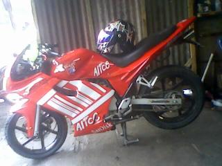 28 Gambar modifikasi motor scorpio z 225 street fighter klasik th 2005 2008 2009 2010 2012 sederhana