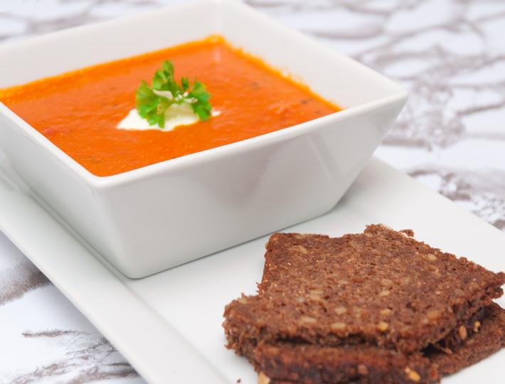 Rezept Tomaten Kokos Suppe