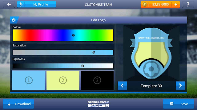 cara mudah menagganti logo dream league soccer 17