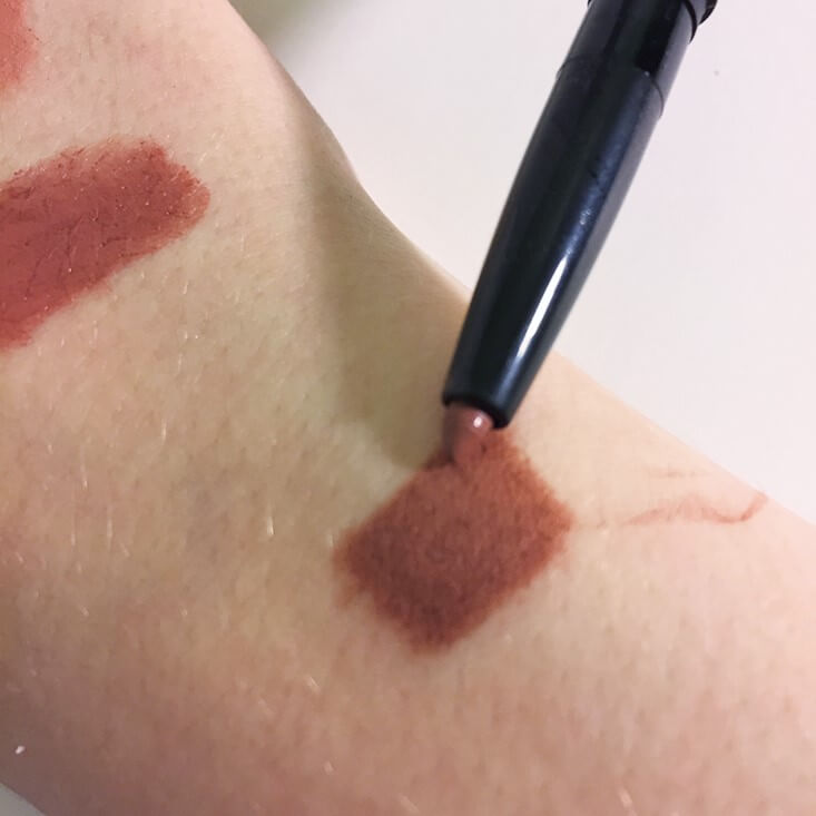 e.l.f. Lip Liner & Blending Brush Dark Brown swatch
