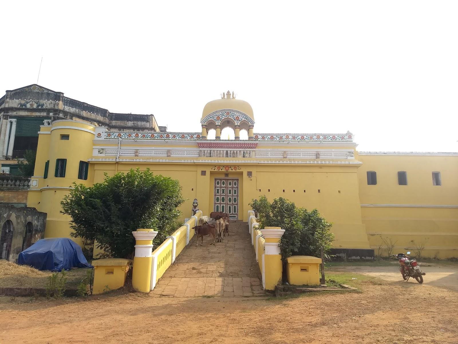 dhenkanal Palace in Orissa