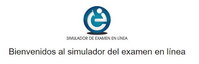 Simulador del examen en línea - CENEVAL