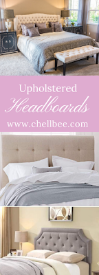 Farmhouse Decor | Discover these upholstered headboards and upgrade your bedroom. #farmhouse #upholsteredheadboard #farmhousedecor