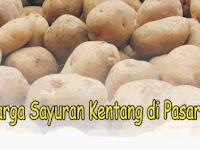 Update Harga Sayuran Kentang di Pasar Hari ini