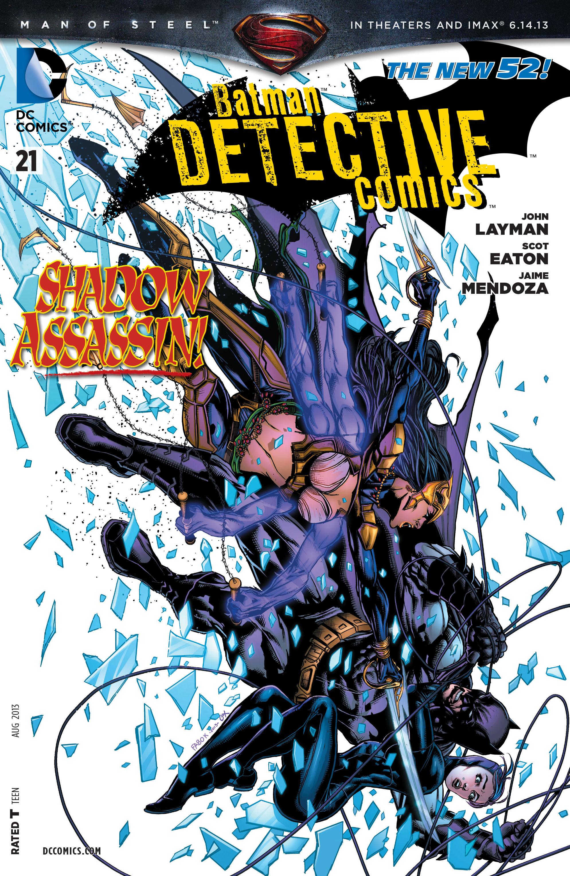 Detective Comics (2011) 21 Page 1