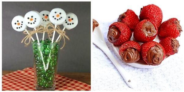 Ideias de Comidinhas Simples e Fáceis para o Natal Sobremesa
