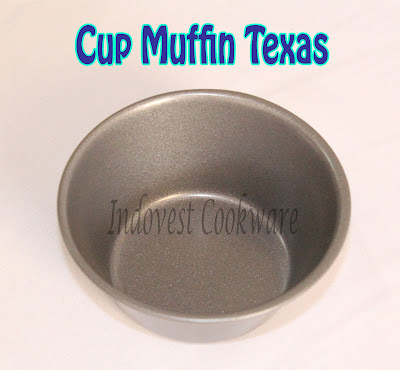 jual Cetakan Cup Muffin Texas Teflon Anti Lengket murah