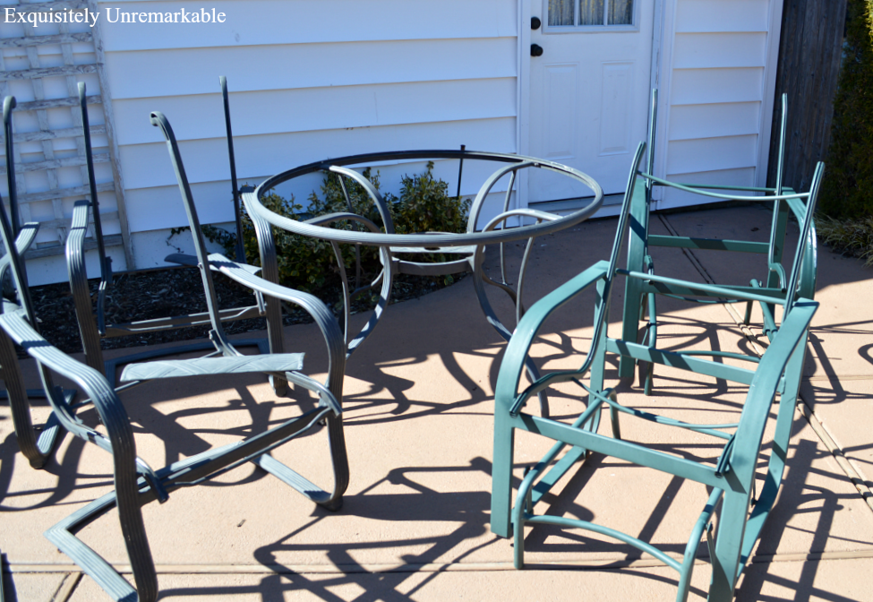 Spray Paint Outdoor Furniture Part 77