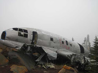 Miss Piggy Plane crash site in Churchill Manitoba.