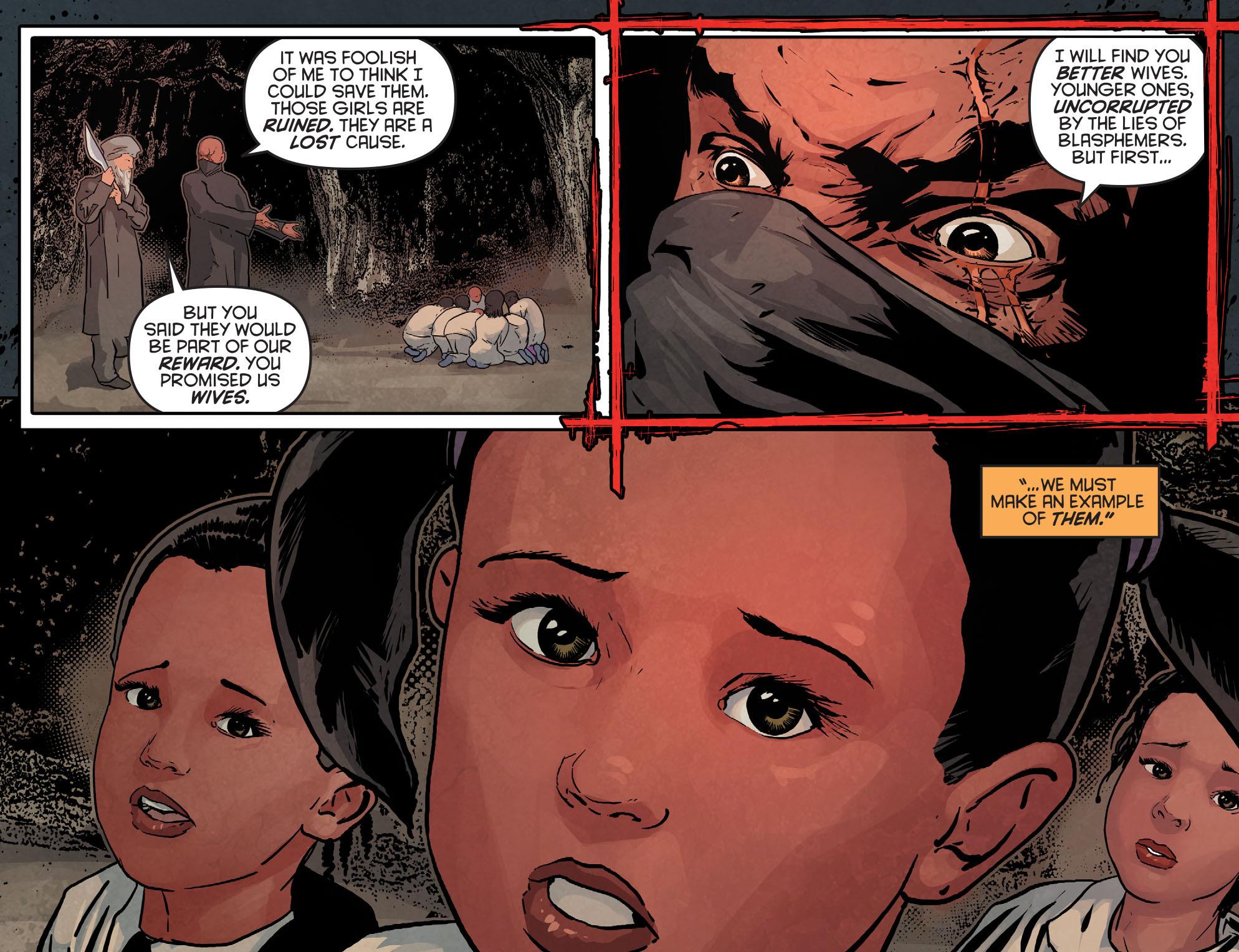 Read online Arrow: Season 2.5 [I] comic -  Issue #12 - 10