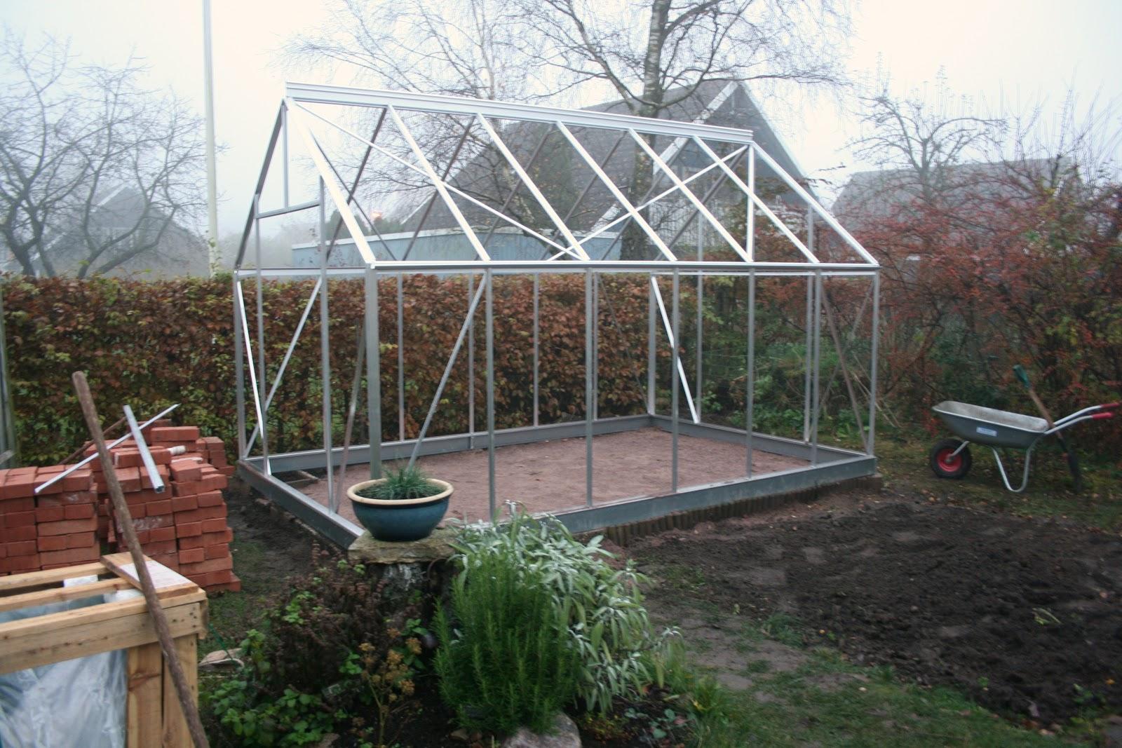 Växthuset och Köksträdgården