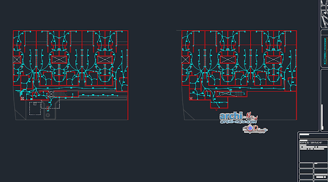 Module departments in AutoCAD