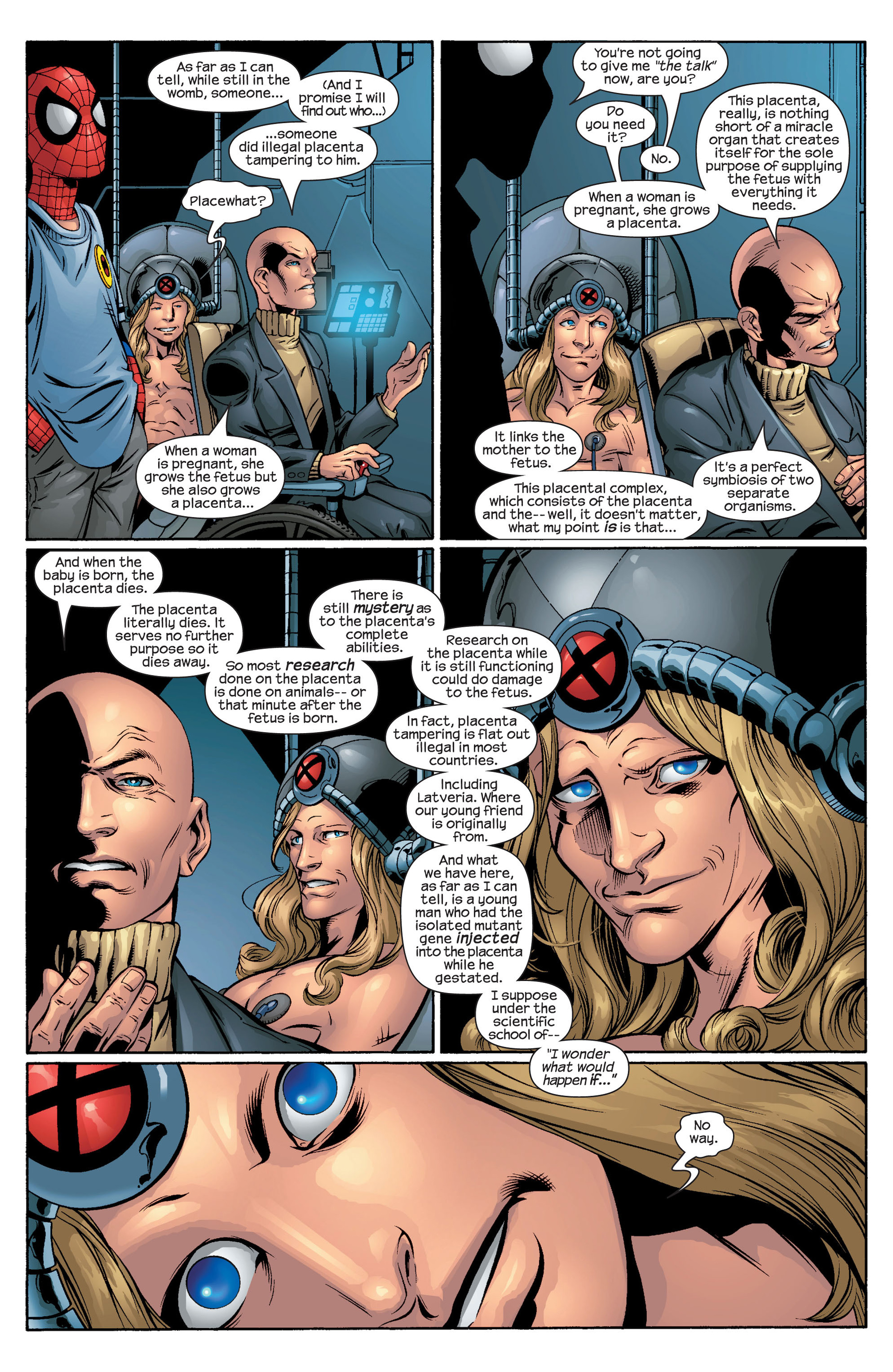 Read online Ultimate Spider-Man (2000) comic -  Issue #44 - 16