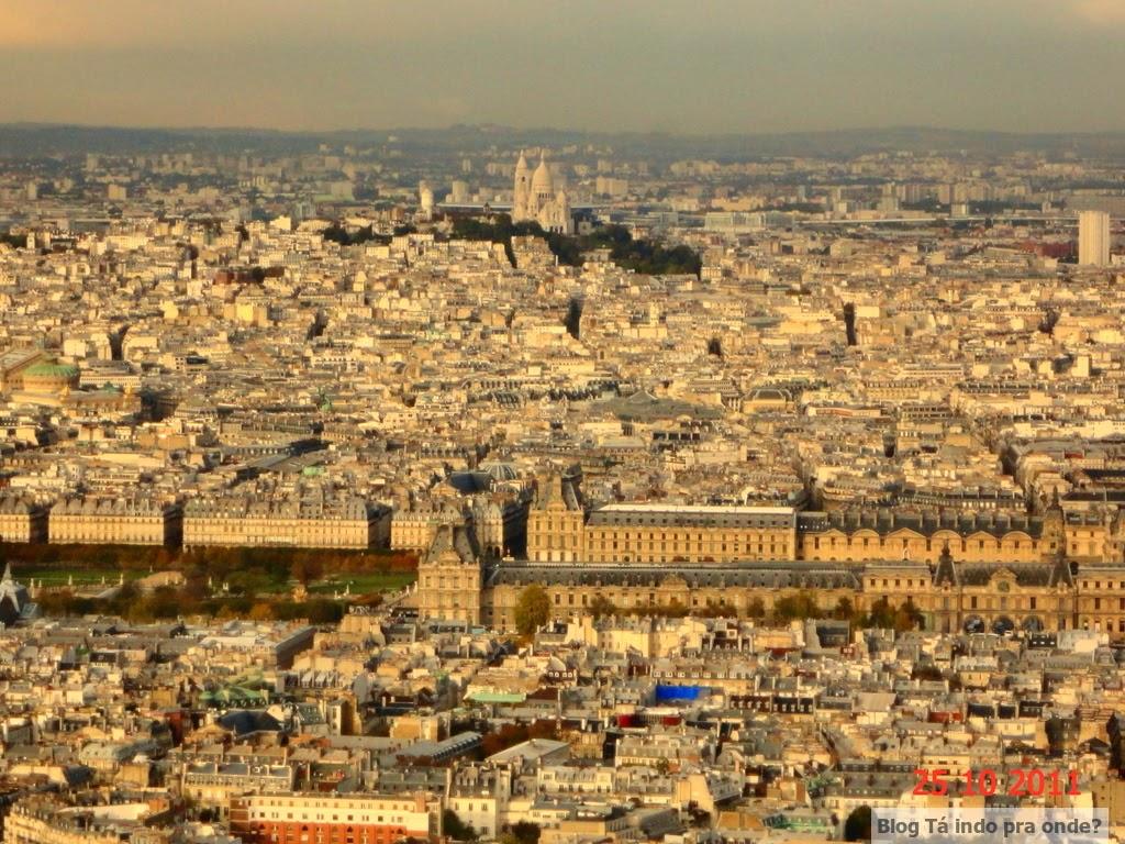 vista da Torre Montparnasse Paris