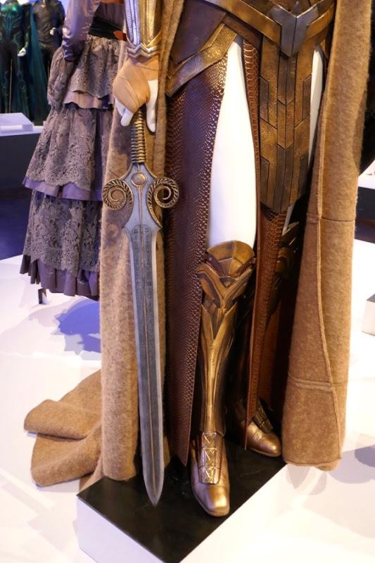 Queen Hippolyta sword legs costume Wonder Woman