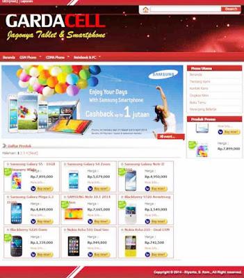 Source Code Toko Online Handphone Berbasis Web Gratis - Contoh ... 0a13b36206