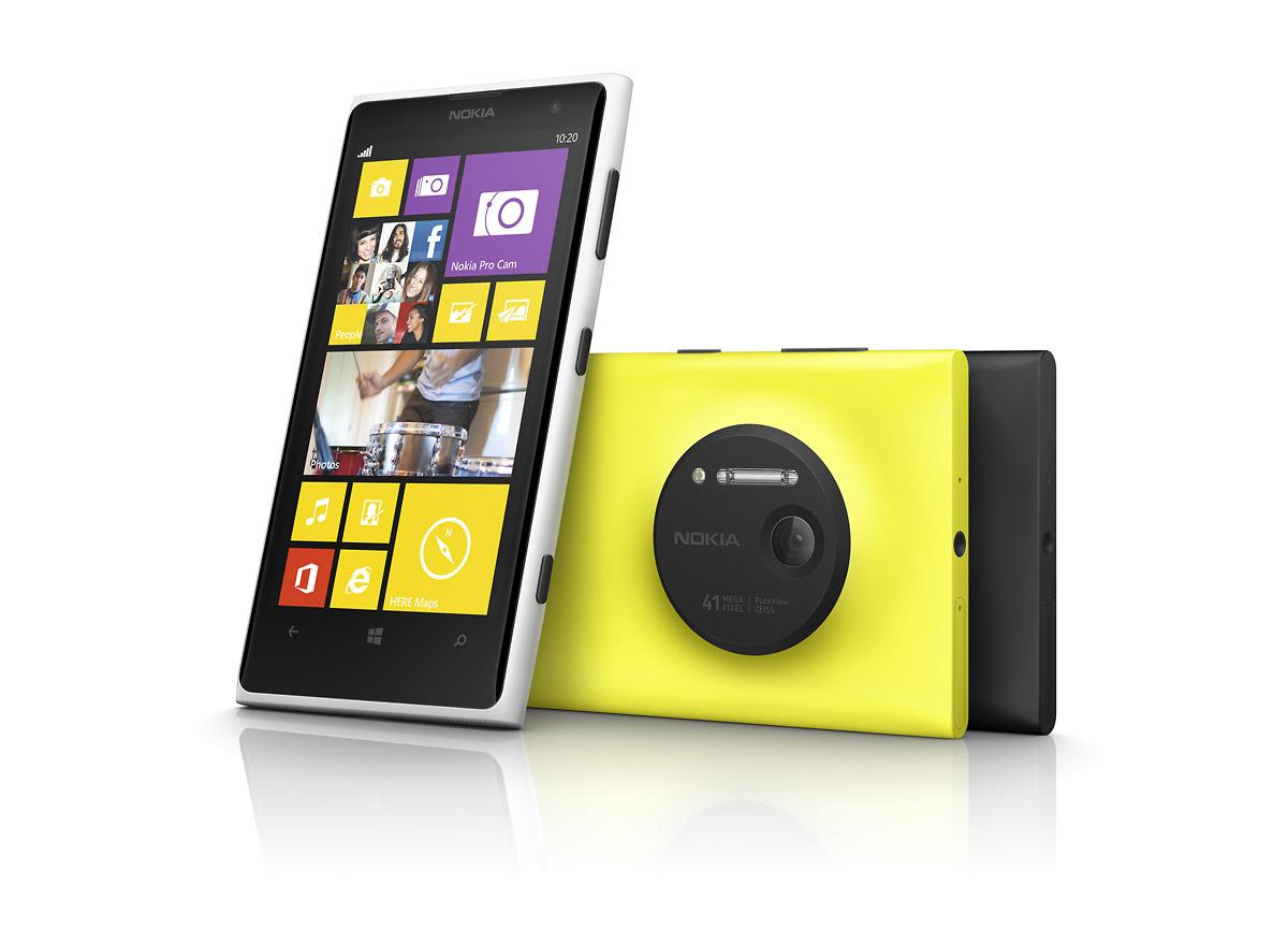 Nokia Lumia 1020: cámara de 41 megapíxeles y Windows Phone 8