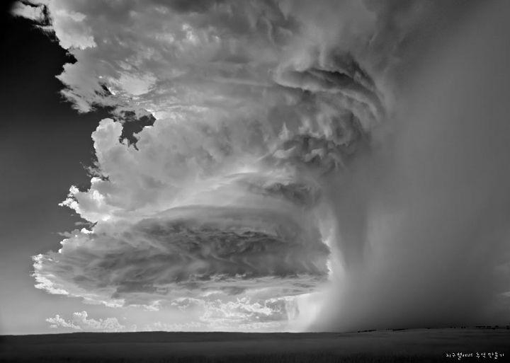 Belas Formações de Nuvens