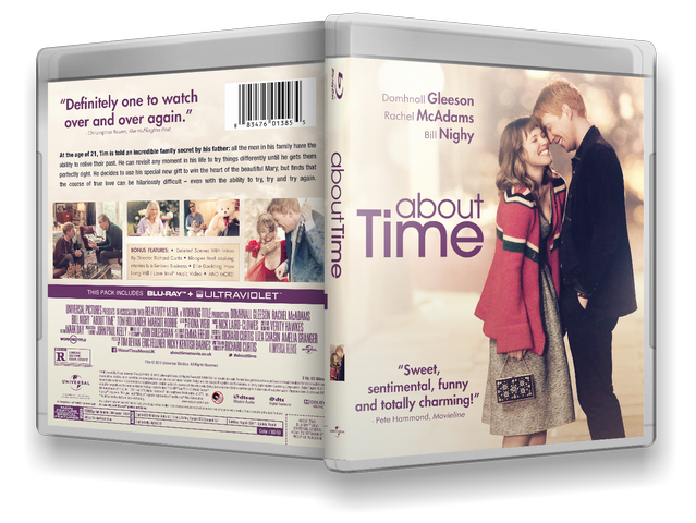 Capa Bluray About Time
