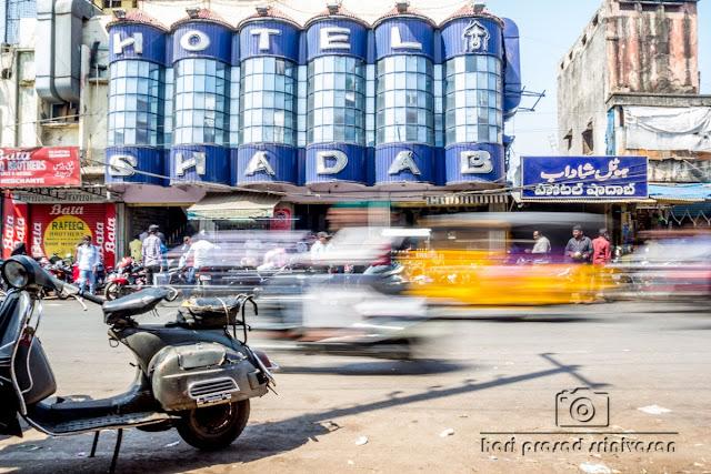 Shadab biriyani, Hyderabad street view