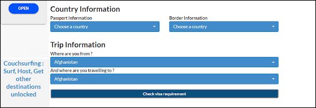 تعرف على هذا الموقع الرائع لمعرفة جميع الدول التي يمكنك الدخول إليها بدون فيزا
