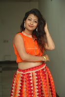 Shubhangi Bant in Orange Lehenga Choli Stunning Beauty ~  Exclusive Celebrities Galleries 055.JPG