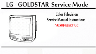 Service Mode TV LG - GOLDSTAR Berbagai Type