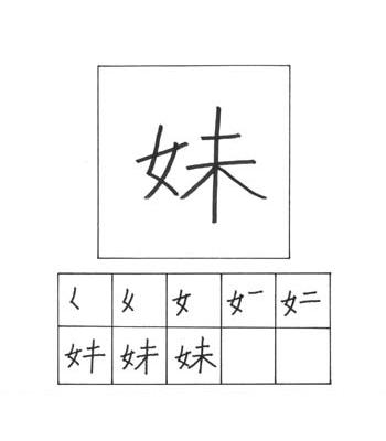 kanji anak perempuan