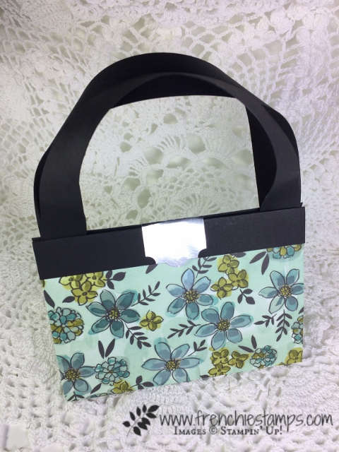 12 x 12 Designer paper Purse, Frenchiestamps, share what You Love Designer paper, Stampin'Up!