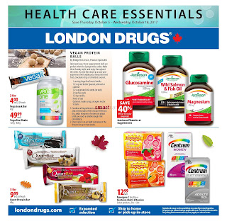 London Drugs Flyer Great Deals valid October 5 - 18, 2017