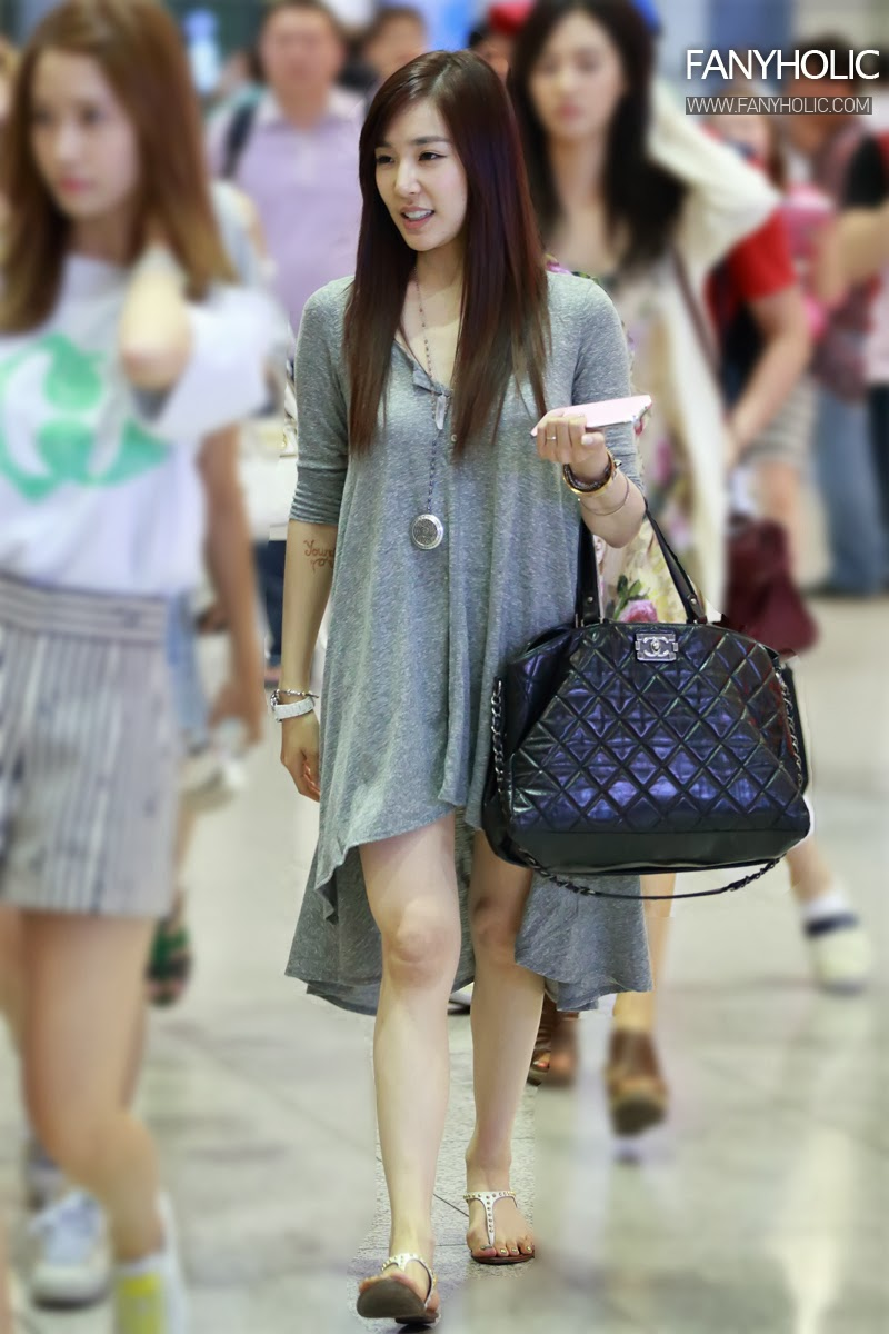 snsd tiffany airport fashion official korean fashion
