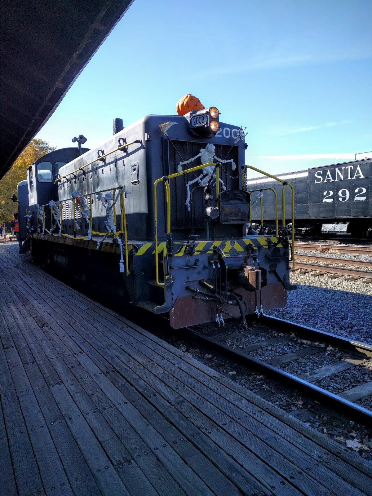 Halloween Old Sacramento 2020 Experience the Spookomotive Train Ride in Old Sacramento