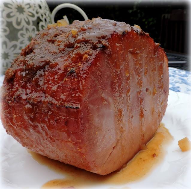 Gingersnap  Glazed Ham