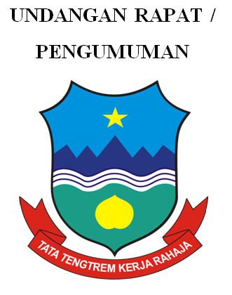 Format Undangan Rapat Pengumuman untuk Berkas Akreditasi Sekolah SD-SMP-SMA
