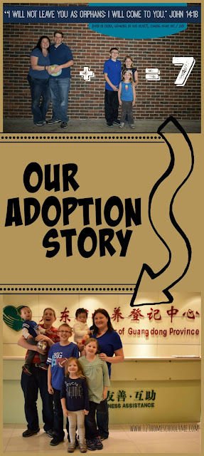 Our Adoption Story - wondering about adopting? Here is a families honest look at their journey to adopt two orphans from China. LOVE IT!